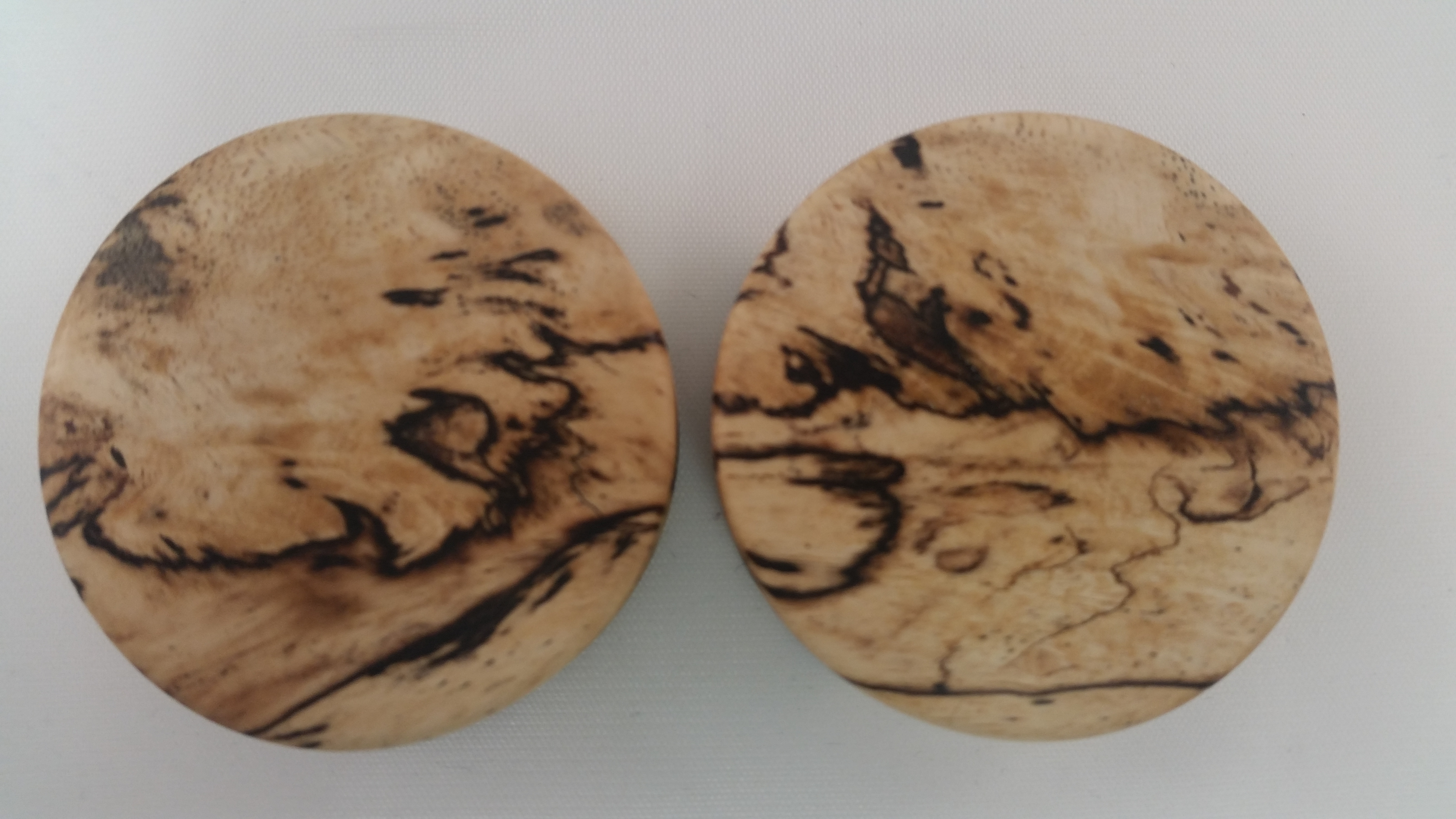 Spalted tamarind wood plugs 1 3 4 wingnut tattoo and for Tattoo shops in st cloud mn