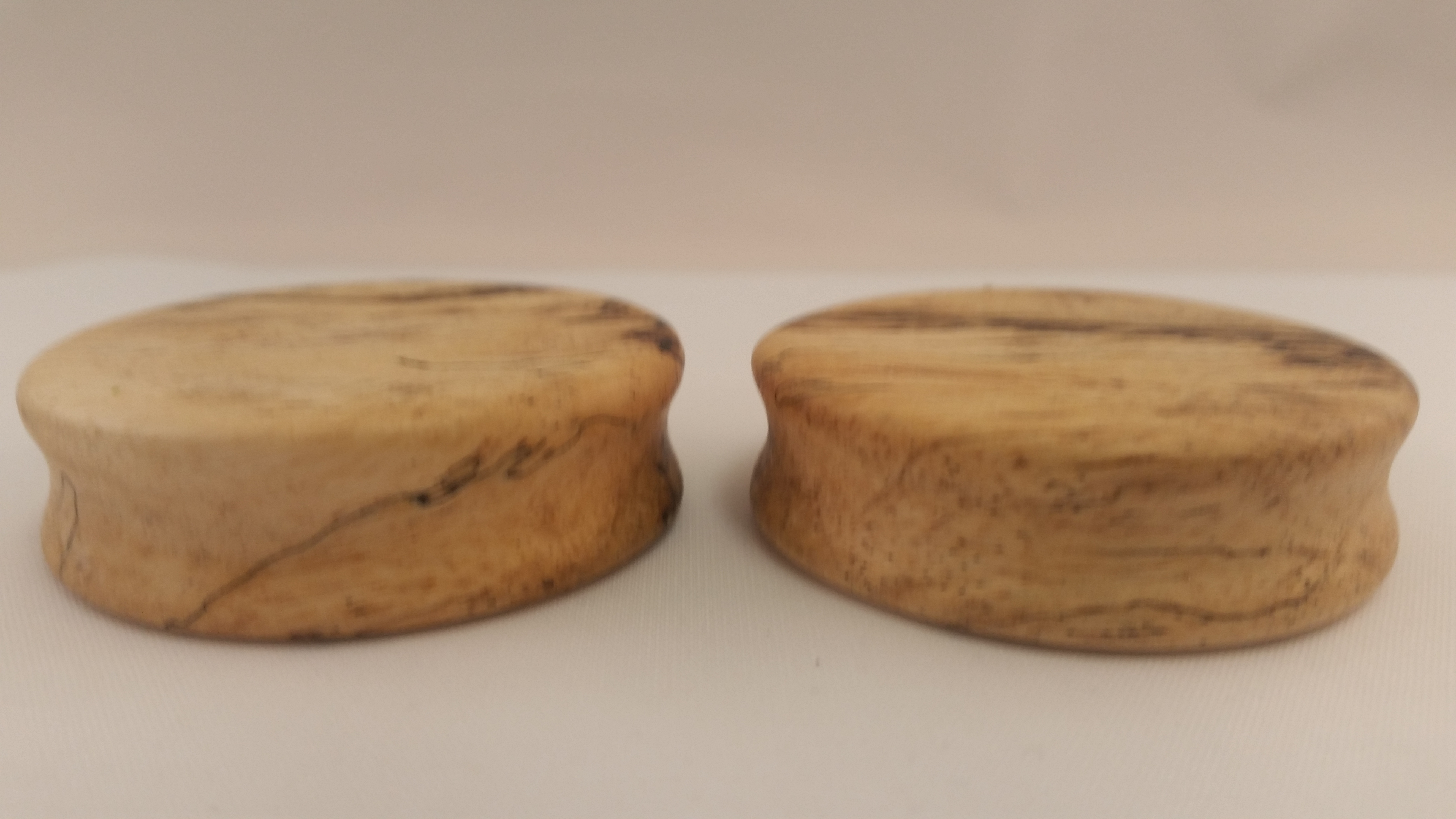 Spalted tamarind wood plugs 1 7 8 wingnut tattoo and for Tattoo shops in st cloud mn