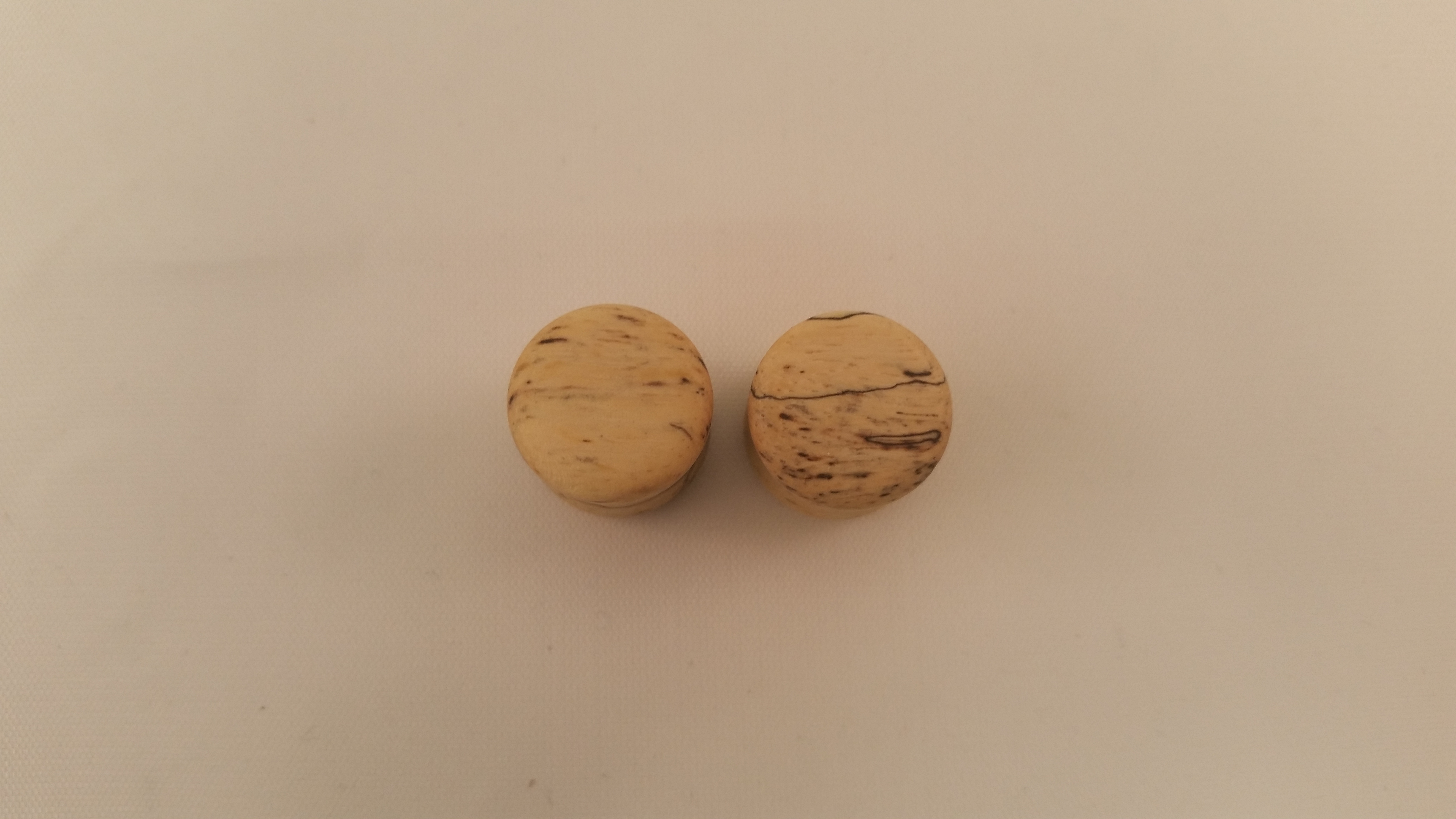 Spalted tamarind wood plugs 1 2 wingnut tattoo and for Tattoo shops in st cloud mn