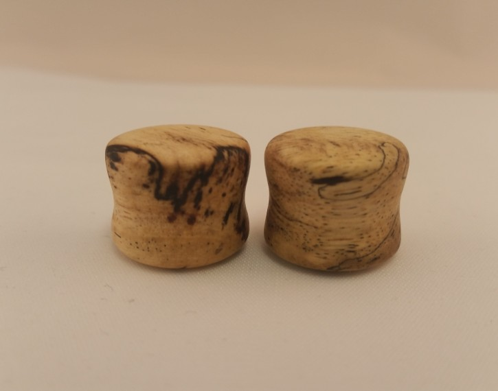 Spalted tamarind wood plugs 5 8 wingnut tattoo and for Tattoo shops in st cloud mn