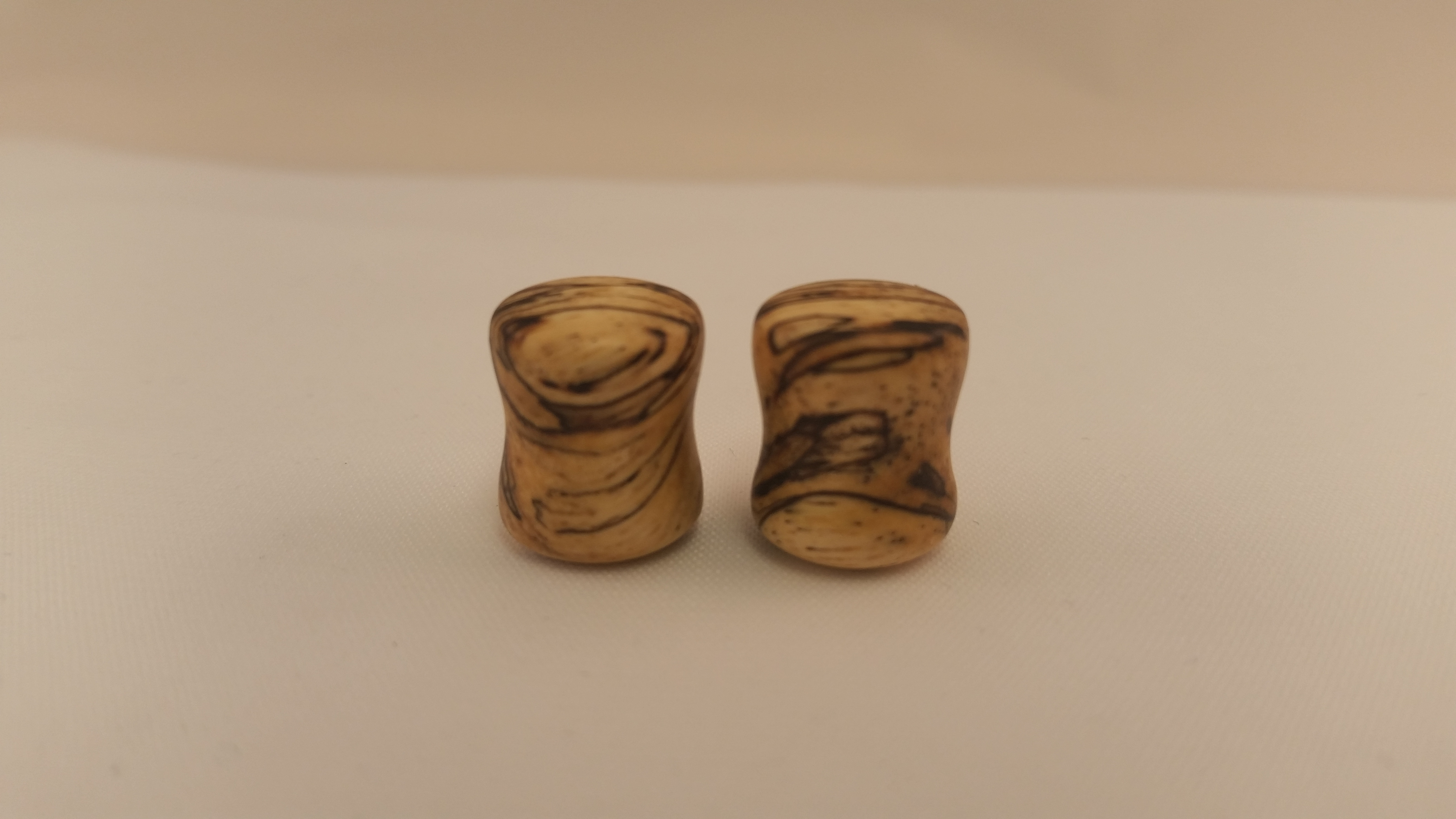 Spalted tamarind wood plugs 7 16 wingnut tattoo and for Tattoo shops in st cloud mn