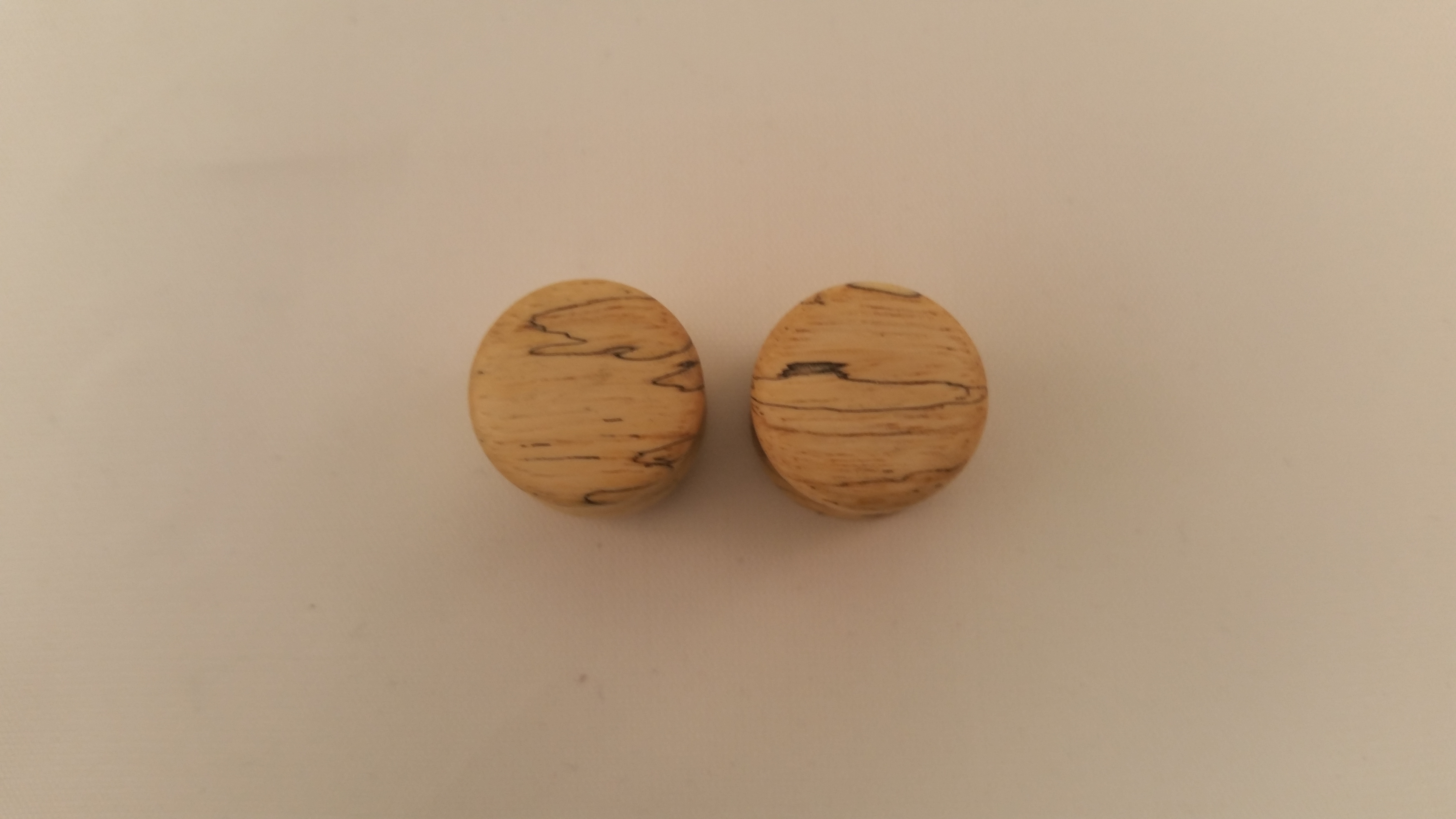Spalted tamarind wood plugs 9 16 wingnut tattoo and for Tattoo shops in st cloud mn
