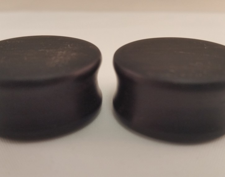 Ebony wood plugs 1 1 8 wingnut tattoo and piercing for Tattoo shops in st cloud mn